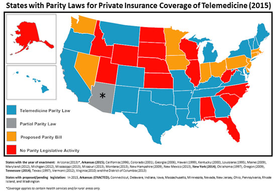Colorado Passes Telehealth Coverage Expansion Law Hall